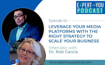 Leverage Your Media Platforms with the Right Strategy to Scale Your Business with Dr. Rob Garcia